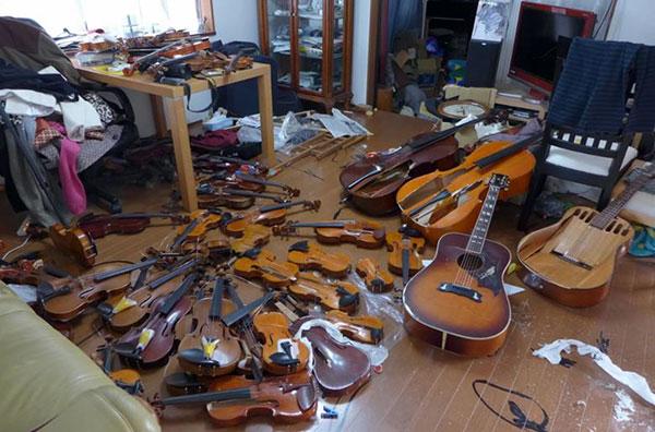 Японка отомстила бывшему мужу, уничтожив его коллекцию скрипок стоимостью около 1 млн. долларов