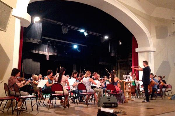 Создан Тульский филармонический симфонический оркестр