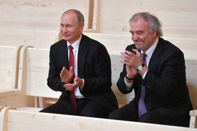 Владимир Путин и Валерий Гергиев на открытии концертного зала в Репино, 31 мая 2017. Фото пресс-службы Президента РФ