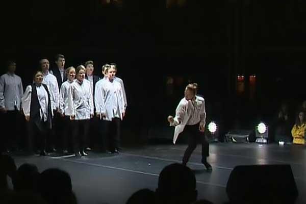 На открытии студии танца Дианы Вишнёвой показали фрагмент балета «Нуреев» Серебренникова