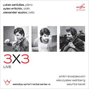«Мелодия» выпустила трио Равеля, Шостаковича и Вайнберга в «3х3»