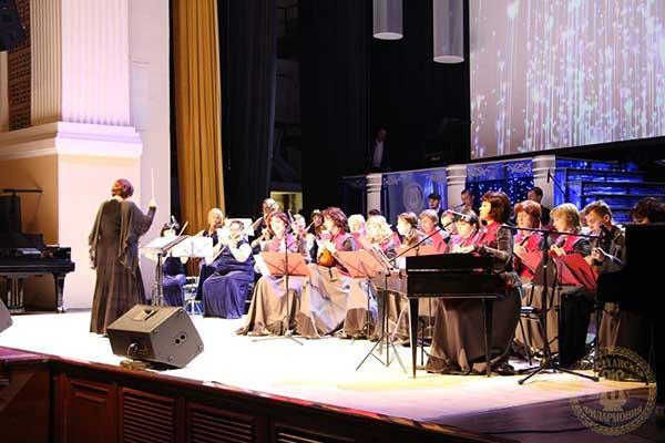 Астраханская государственная филармония отметила 80-летний юбилей праздничным концертом