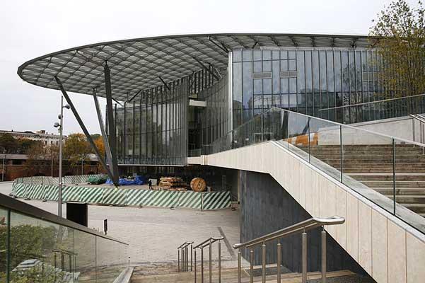 Работы по строительству филармонии в «Зарядье» будут завершены в марте 2018 года