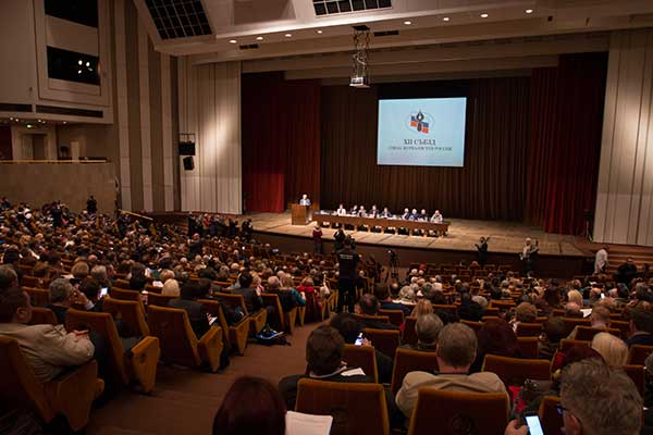 ХII Съезд избрал нового председателя Союза журналистов России. Им стал кинодокументалист Владимир Соловьев