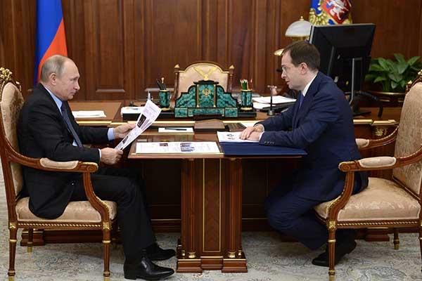 Мединский сообщил Путину о «филармоническом буме» и значительном росте интереса к театрам