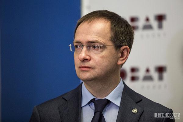 Министр культуры Мединский похвалил руководство Новосибирского оперного за доходы и представил нового директора