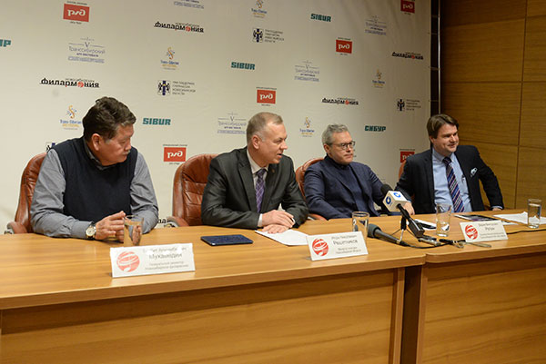 Вадим Репин представил в Новосибирске программу V Транссибирского Арт-Фестиваля