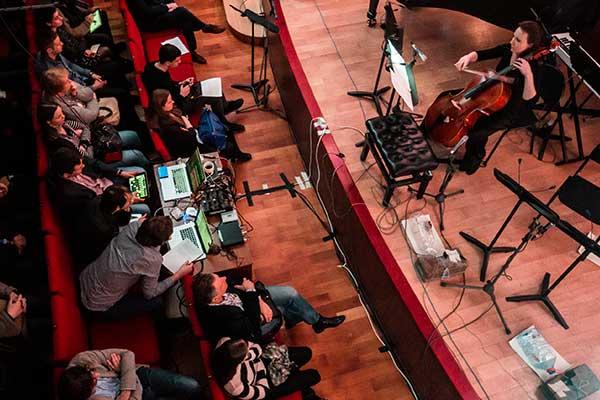 Николай Попов и Александр Хубеев представят мультимедиа-проект «Биомеханика 3.0» в Московской консерватории