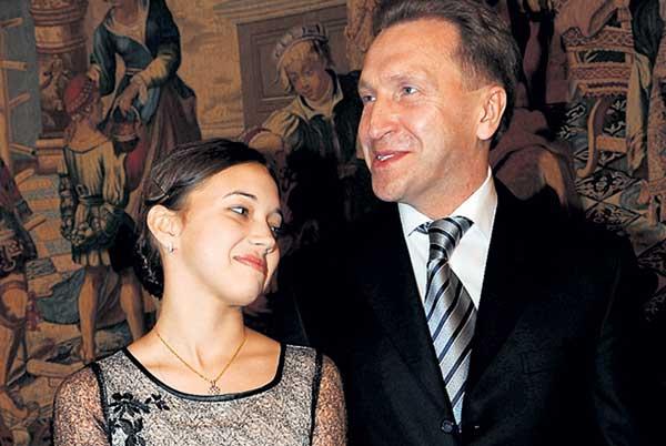 Дочь Игоря Шувалова стала звездой Большого театра