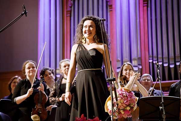 На фестивале «Опера Априори» 17 марта — сольный концерт меццо-сопрано Стефани д'Устрак