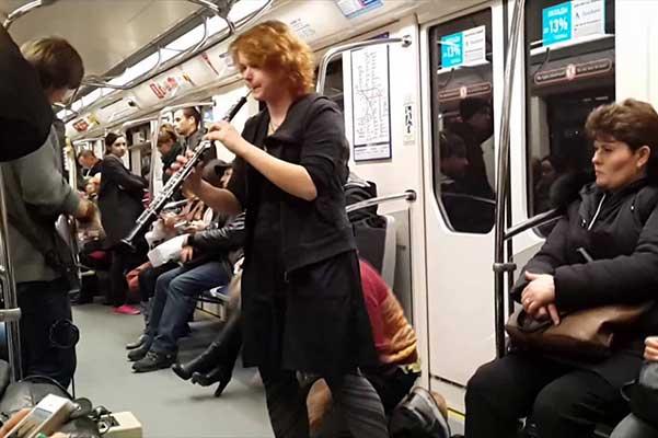 Полтавченко предложил повысить штрафы для музыкантов в метро