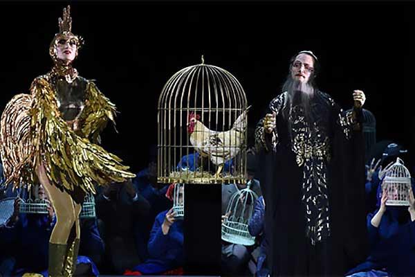 26 июня в театре Геликон-опера — премьера оперы Римского-Корсакова «Золотой петушок»