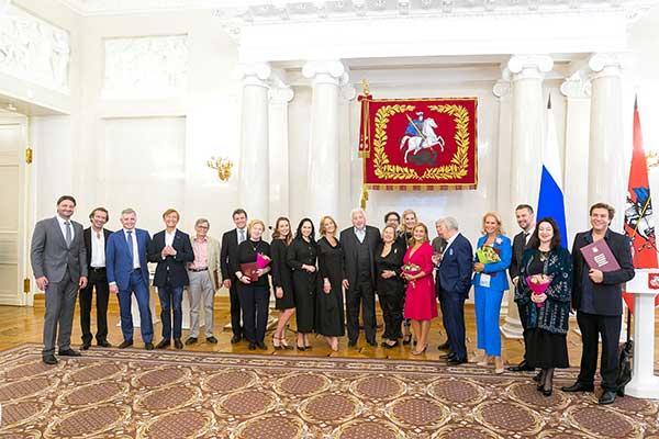 Премии Москвы в области литературы и искусства вручили 5 сентября