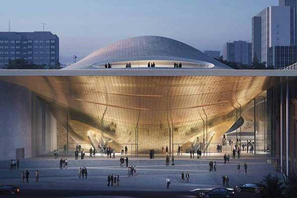 В конкурсе проектов нового зала Свердловской филармонии победило лондонское архитектурное бюро Zaha Hadid