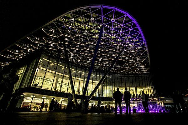 На фасаде концертного зала «Зарядье» начнут транслировать концерты