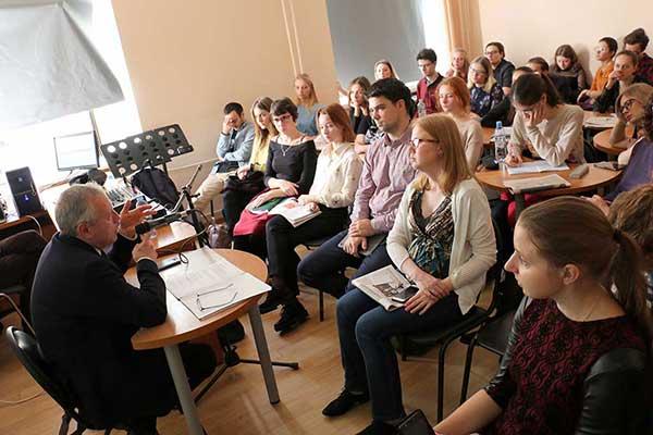 В Москве прошли заседания Всероссийского форума, посвященного музыкальной журналистике (фотогалерея)