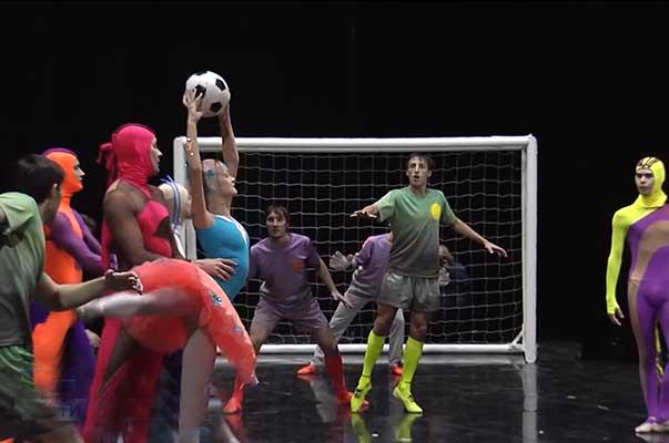 В Башкирии прошла премьера балета с элементами футбола