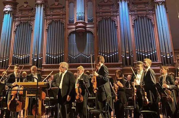 Реконструкция последнего концерта Чайковского в день 125-летия со дня смерти композитора