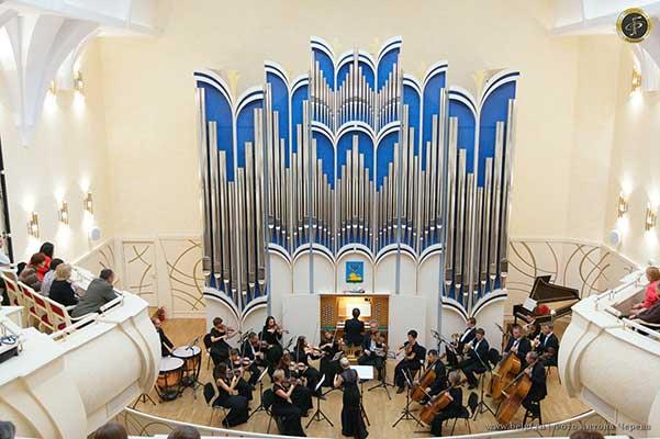 День рождения органа в Белгородской филармонии
