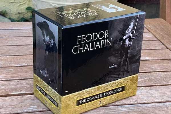 В США вышло полное собрание записей Федора Шаляпина