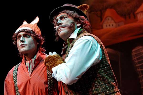 Детский музыкальный театр имени Наталии Сац подготовил премьеру к 250-летию Ивана Крылова