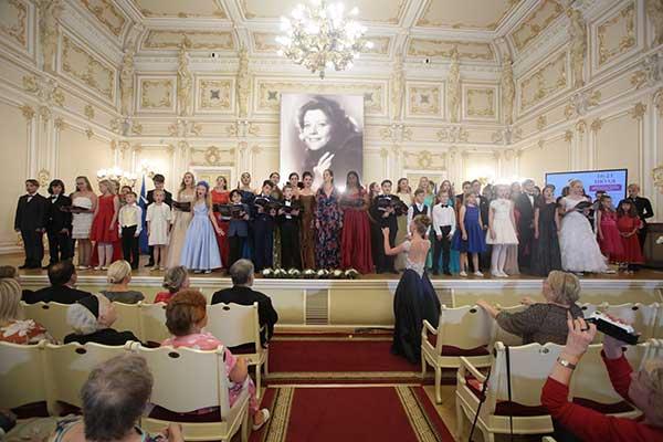 Концерт лауреатов и дипломантов Международного конкурса юных вокалистов Елены Образцовой