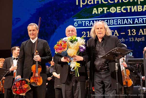 «…с востока свет…» — мировая премьера скрипичного концерта Александра Раскатова на Транссибирском Арт-Фестивале