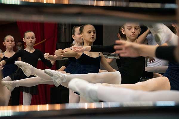 Филиал Московской государственной академии хореографии в Калининграде набирает первых учеников