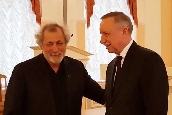 Борис Эйфман и Николай Мартон получили премию правительства Санкт-Петербурга