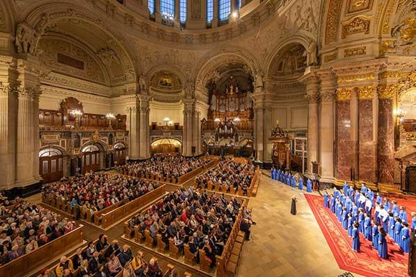 Хор «Весна»: концерт в Домском соборе в Берлине