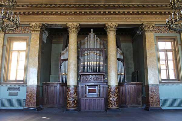 Самый старый орган Петербурга отреставрируют