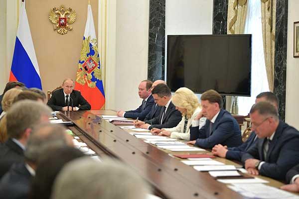 XVI Международный конкурс имени Чайковского: обсуждение на совещании у Владимира Путина
