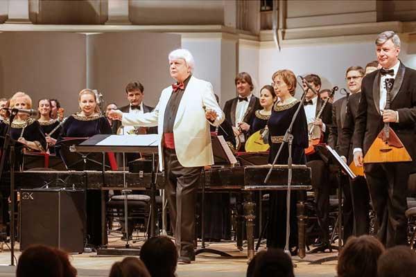 Оркестр народных инструментов имени Осипова отмечает 100-летие