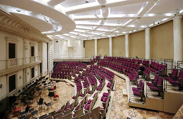 10 декабря — концерт «Года Вайнберга в России» в Бетховенском зале Большого театра. Камерный оркестр Большого театра, дирижер Михаил Цинман