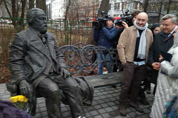 Памятник Михаилу Ипполитову-Иванову открыли в сквере института его имени