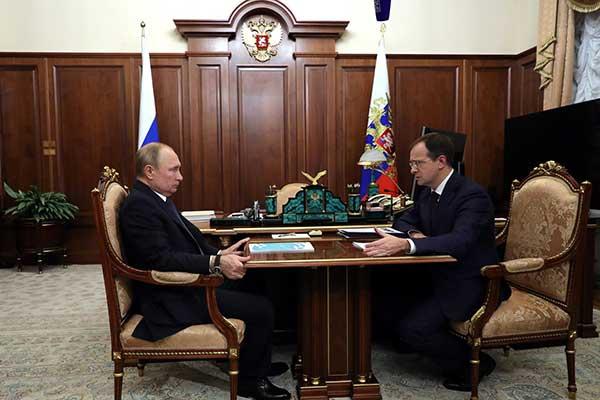 Путин призвал Минкультуры сотрудничать с Зальцбургским фестивалем