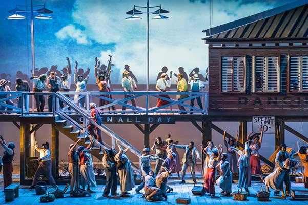 Прямые трансляции TheatreHD: «Порги и Бесс» из Метрополитен-опера. «Жизель» из Большого театра