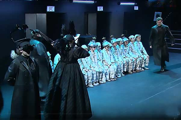 Опера «Маленький трубочист» Бриттена на Камерной сцене Большого театра