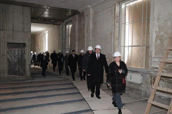 В Санкт-Петербургской консерватории возобновляются ремонтно-реставрационные работы
