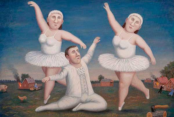 Танцы Владимира Любарова. К Международному дню танца