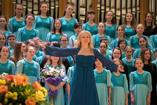 Детский хор «Весна» имени А.С. Пономарева выступит в БЗК