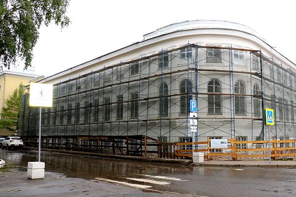 Капитальный ремонт Вологодской филармонии