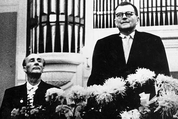 Мравинский – cоавтор Шостаковича