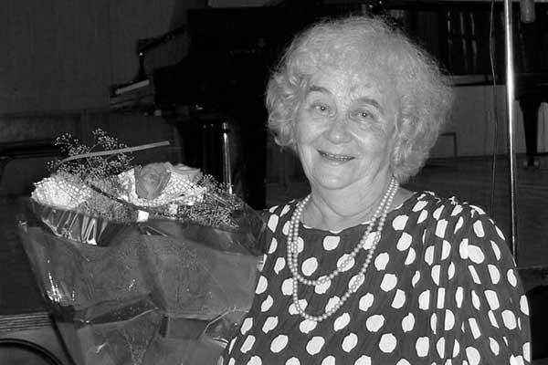 90 лет со дня рождения Екатерины Франгуловой