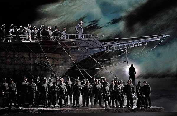 TheatreHD: «Летучий Голландец» в Новой Третьяковке