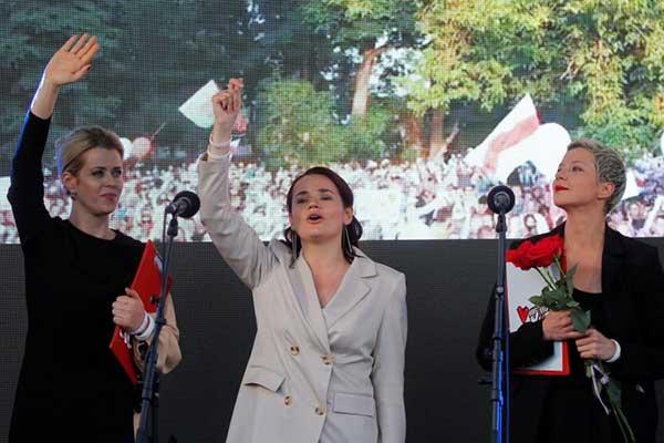 Белорусская оппозиция получила премию Сахарова от Европарламента