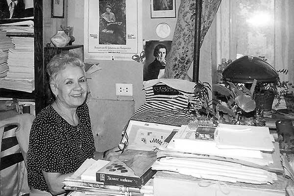 Умерла директор библиотеки Союза композиторов Марина Савельева