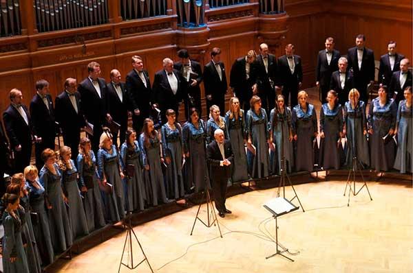 Московский камерный хор выступит в Соборе Петра и Павла