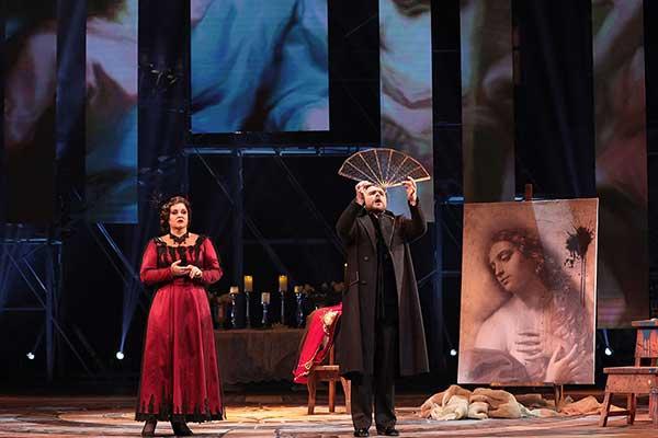 Премьера оперы Дж. Пуччини «Тоска» в Геликон-опере (фотогалерея)