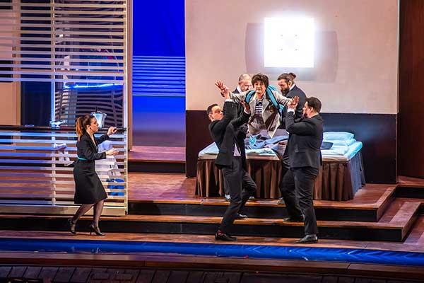 «Свадьба Фигаро» В.-А. Моцарта: премьера в Нижегородском театре оперы и балета (фотогалерея)